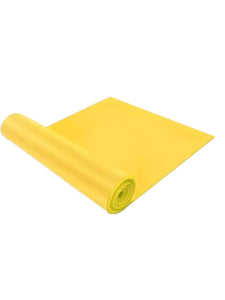 Color=Yellow | Thick Wide Non-Slip Resistance Bands For Women/Men-Yellow 1