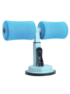 Color=Sky Blue | Portable Sit Up Bar Floor Self-Suction For Muscle Training -Sky Blue 1