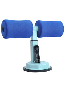 Color=Dusty blue | Portable Sit Up Bar Floor Self-Suction For Muscle Training -Dusty Blue 1