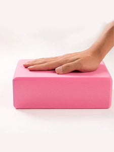 Color=Pink | Eco-Friendly High-Density Yoga Blocks For Exercise And Sports-Pink 2