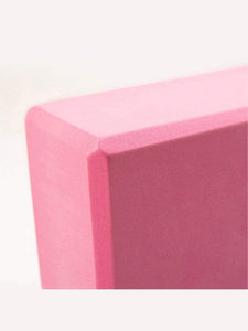 Color=Pink | Eco-Friendly High-Density Yoga Blocks For Exercise And Sports-Pink 3