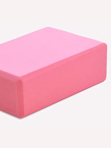 Color=Pink | Eco-Friendly High-Density Yoga Blocks For Exercise And Sports-Pink 1