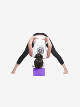 Carica l'immagine nel visualizzatore di Gallery, Color=Purple | Eco-Friendly High-Density Yoga Blocks For Exercise And Sports-Purple 2