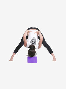 Color=Purple | Eco-Friendly High-Density Yoga Blocks For Exercise And Sports-Purple 2