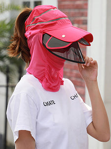 Color=Sky Blue | Transparent Isolation Anti-Pollution Protective Face-Shield Hat-Sky Blue 2 | Transparent Anti-Pollution Hat-Sky Blue | Transparent Isolation Anti-Pollution Protective Face-Shield Hat-Sky Blue 2 1