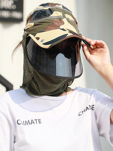 Color=Sky Blue | Transparent Isolation Anti-Pollution Protective Face-Shield Hat-Sky Blue 1 | Transparent Anti-Pollution Hat-Sky Blue | Transparent Isolation Anti-Pollution Protective Face-Shield Hat-Sky Blue 1 1