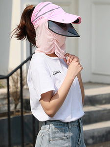Color=Coral | Transparent Isolation Anti-Pollution Protective Face-Shield Hat-Coral 1 | Transparent Anti-Pollution Hat-Coral | Transparent Isolation Anti-Pollution Protective Face-Shield Hat-Coral 1 1