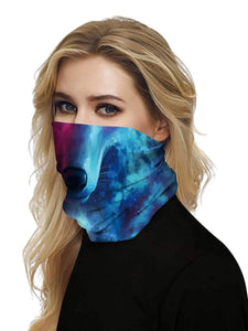 Color=Multicolor1 | Uv Neck Gaiter Face Scarf Breathable For Wind And Dust-Multicolor1 2