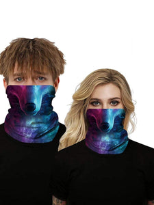 Color=Multicolor2 | Uv Neck Gaiter Face Scarf Breathable For Wind And Dust-Multicolor2 1