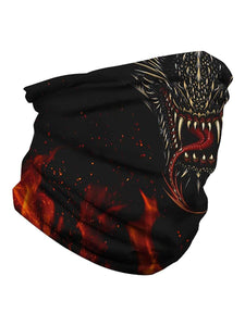 Color=Multicolor2 | Uv Neck Gaiter Face Scarf Breathable For Wind And Dust-Multicolor2 3