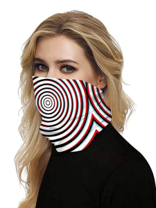 Color=Multicolor6 | Uv Neck Gaiter Face Scarf Breathable For Wind And Dust-Multicolor6 2