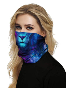 Color=Multicolor7 | Uv Neck Gaiter Face Scarf Breathable For Wind And Dust-Multicolor7 2
