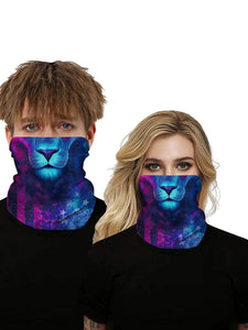 Color=Multicolor7 | Uv Neck Gaiter Face Scarf Breathable For Wind And Dust-Multicolor7 1
