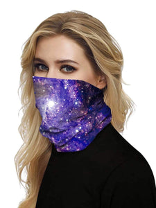 Color=Multicolor10 | Uv Neck Gaiter Face Scarf Breathable For Wind And Dust-Multicolor10 2