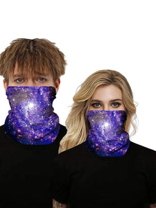 Color=Multicolor10 | Uv Neck Gaiter Face Scarf Breathable For Wind And Dust-Multicolor10 1