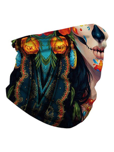 Color=Multicolor11 | Uv Neck Gaiter Face Scarf Breathable For Wind And Dust-Multicolor11 3