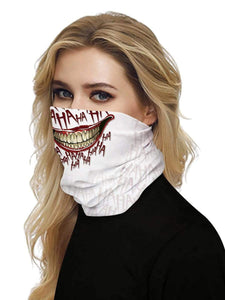 Color=Multicolor13 | Uv Neck Gaiter Face Scarf Breathable For Wind And Dust-Multicolor13 2