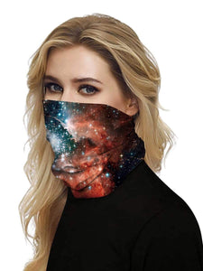 Color=Multicolor14 | Uv Neck Gaiter Face Scarf Breathable For Wind And Dust-Multicolor14 2