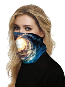 Color=Multicolor15 | Uv Neck Gaiter Face Scarf Breathable For Wind And Dust-Multicolor15 2