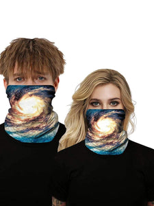 Color=Multicolor15 | Uv Neck Gaiter Face Scarf Breathable For Wind And Dust-Multicolor15 1