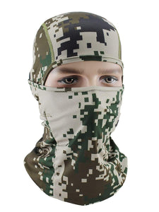 Color=Multicolor2 | Riding Breathable Sunscreen Windproof Balaclava Face Hat-Multicolor2 1