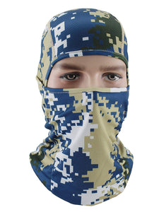 Color=Multicolor7 | Riding Breathable Sunscreen Windproof Balaclava Face Hat-Multicolor7 1