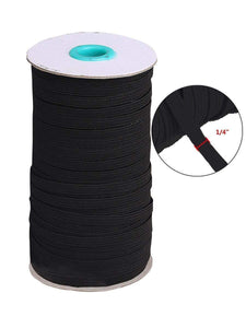 Color=Black | High Elasticity Knit Band For Sewing Diy Cloth -Black 1