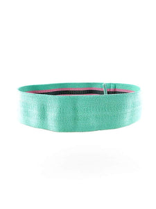 Color=Turquoise | Fabric Resistance Workout Assist Bands For Yoga Sports-Turquoise 1