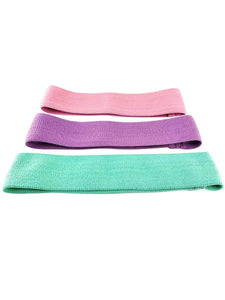 Color=3 pcs | Fabric Resistance Workout Assist Bands For Yoga Sports-3 Pcs 1