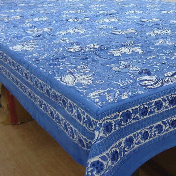 Sada Blue, Tablecloth in 3 sizes