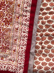 Anokhi cotton Quilt, Little Red flowers
