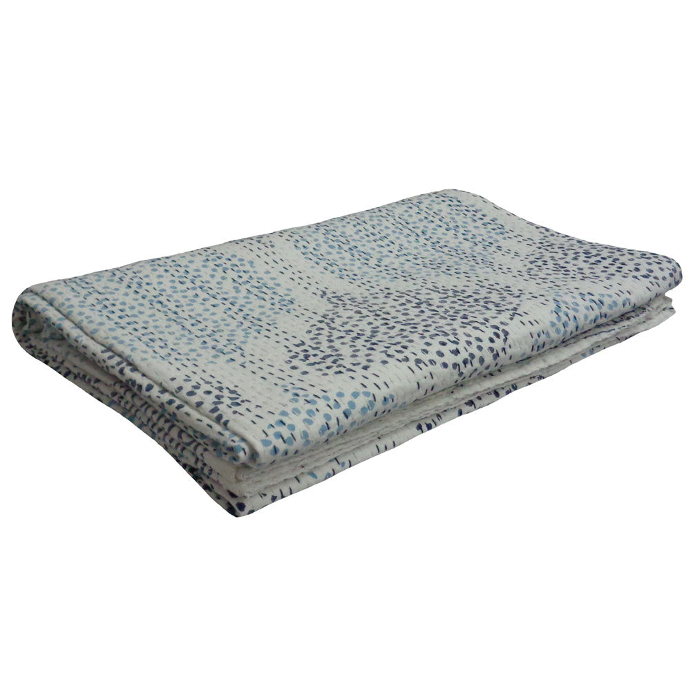 Kantha, Blue Dots