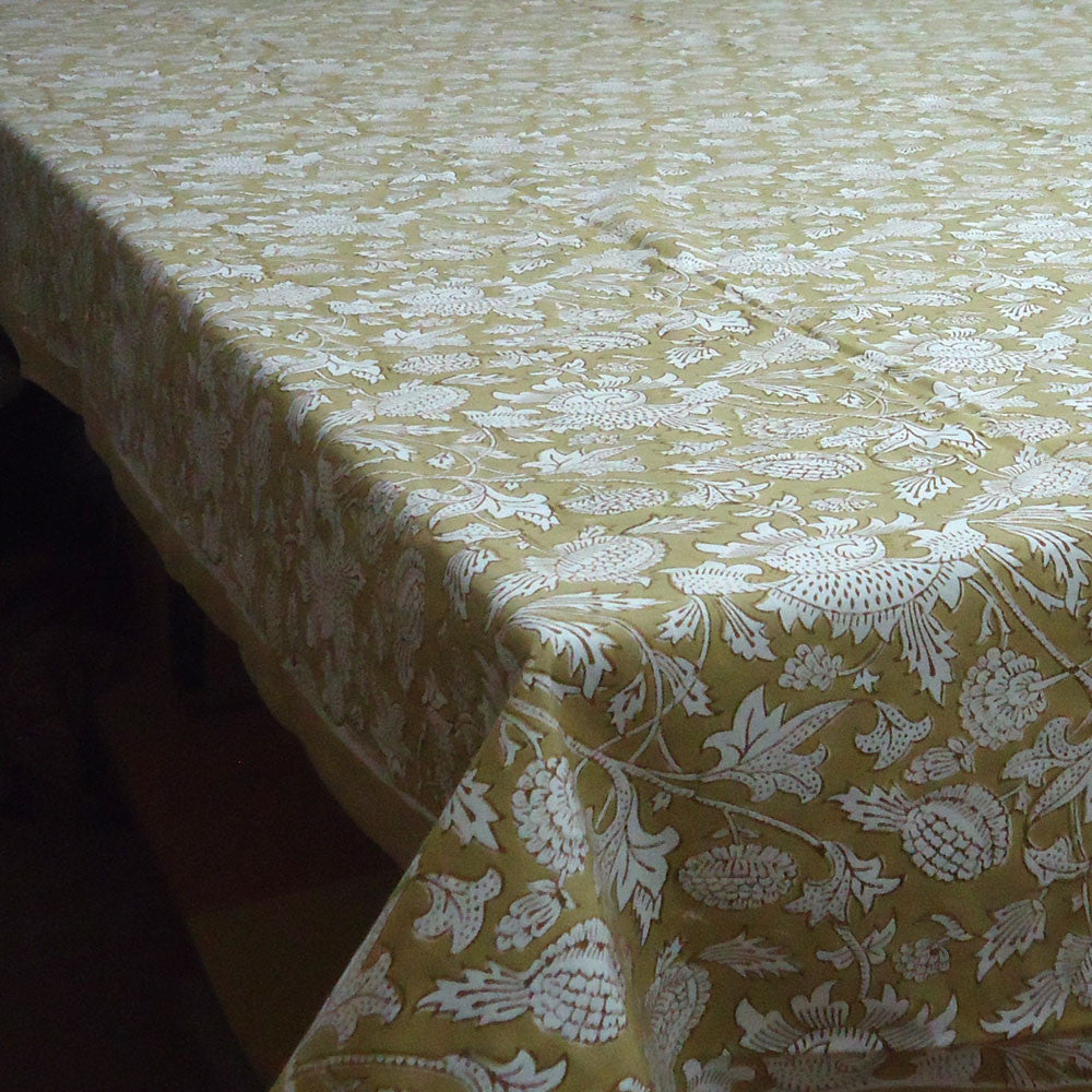 Floral Beige, Tablecloth