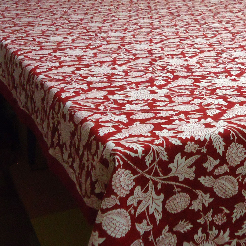 Floral Red, Tablecloth