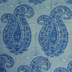 Blue & White Paisley, Tablecloth in 3 sizes