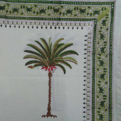 Palm Tree green, Tablecloth
