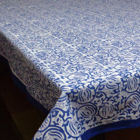Two Lotus design, Tablecloth