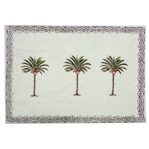 Table mats, Green Palm