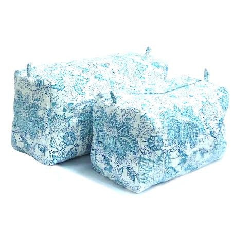 Cosmetic Bags, Set of 2.