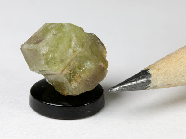Green garnets, dollhouse display, 1:12 or 1:24 scale.