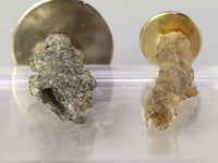 "Fulgurites, ""fused lightning"", showing hollow tubes, 1:12 specimens"
