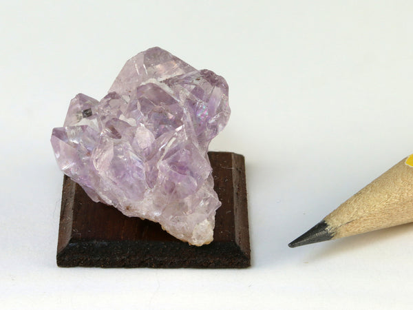 1:12 scale amethyst cluster