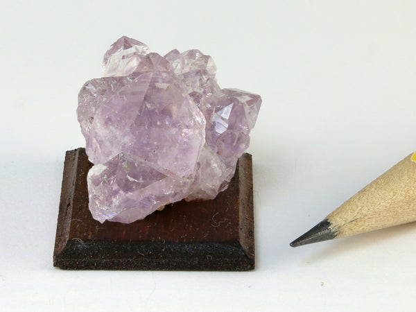 Amethyst cluster, Mexico, for dollhouse setting