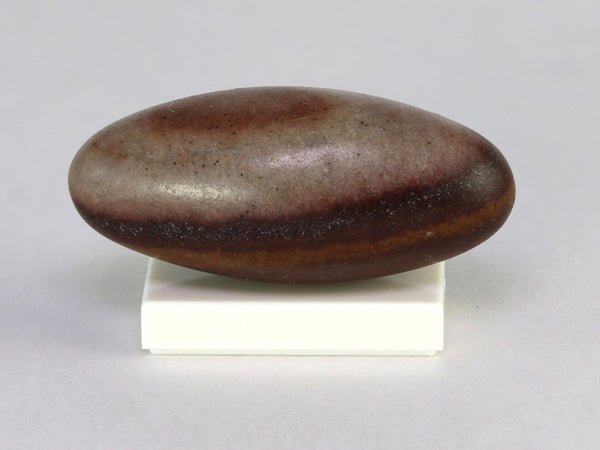 Shiva lingam stone, India.  1:12 or 1:6 scale.  Side view.