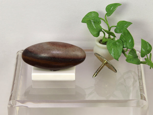 Shiva lingam stone, India.  1:12 or 1:6 scale