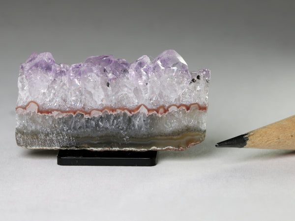 Amethyst slab for dollhouse, 1:6 or 1:12 scale
