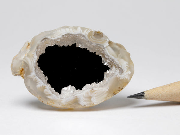 Geode framed mirror, 1:12 scale dollhouse accessory
