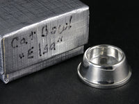Acquisto Silver 1:12 scale silver cat or dog bowl with original box.