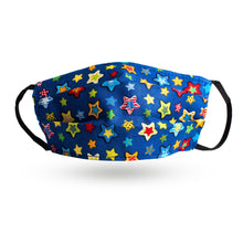 Load image into Gallery viewer, Bright Stars 100% Organic Cotton Face Mask-Stay Safe