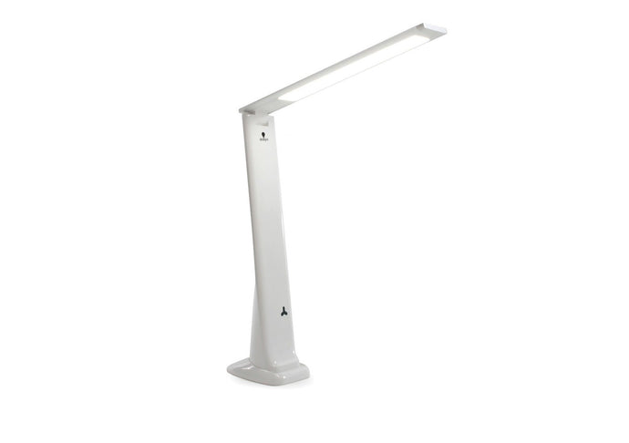 White, fold-able daylight lamp